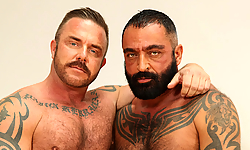 Pete Finland and Tom Colt
