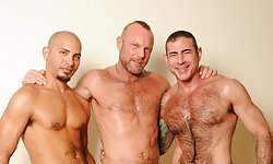 Antonio, Chad  and Nick