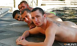 Pool Party GangBang