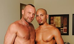 Chad Brock and Antonio Biaggi