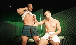 Damien Crosse and Mike Colucci