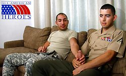 Lance Corporal Morgies First Gay BJ