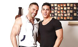 Topher DiMaggio and Jake Genesis