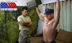 Sergeant Tony's First Gay BJ