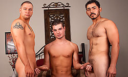 Chad, Trevor, and Miguel