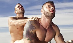 Damien Crosse and Alex Marte