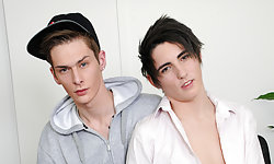 Kyle Dickson and Connor Levi