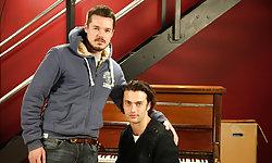Adam Dacre and Justin Harris