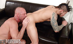 Chad Brock and Draven Torres