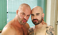 Matteo Valentine and Carlo Cox